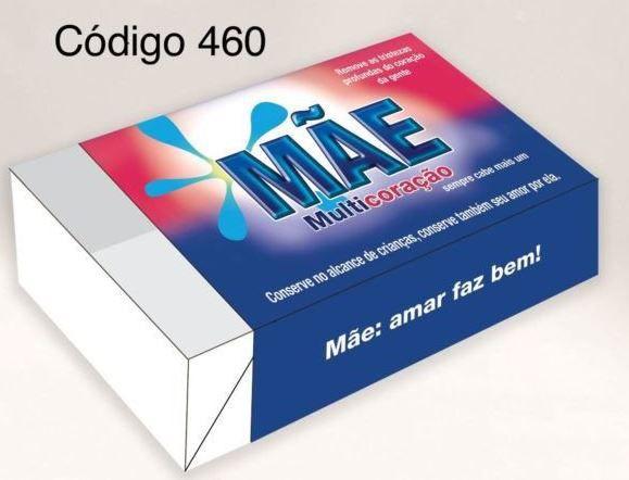 Caixa Divertida para 6 doces - Mãe Multicoração Ref. 460 - 10 unidades - Erika Melkot  - Rizzo Embalagens