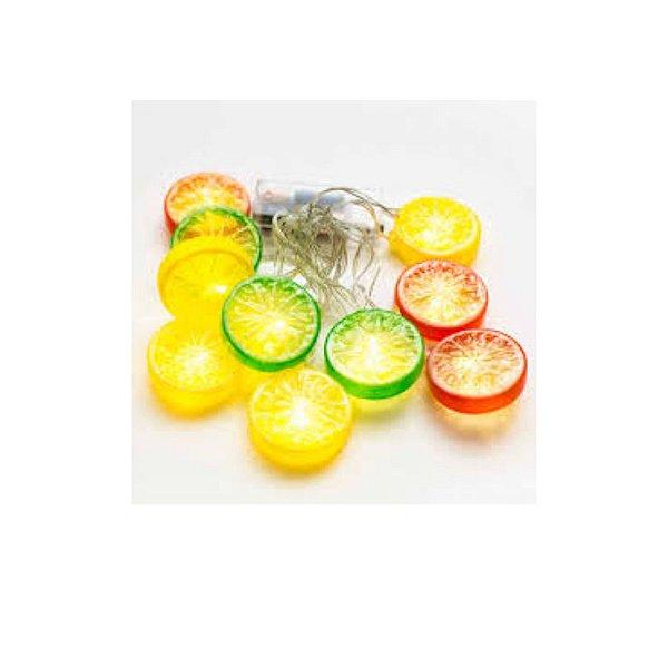 Cordão de Led Limão 2 Metros - 1 Unidade - ArtLille - Rizzo Embalagens