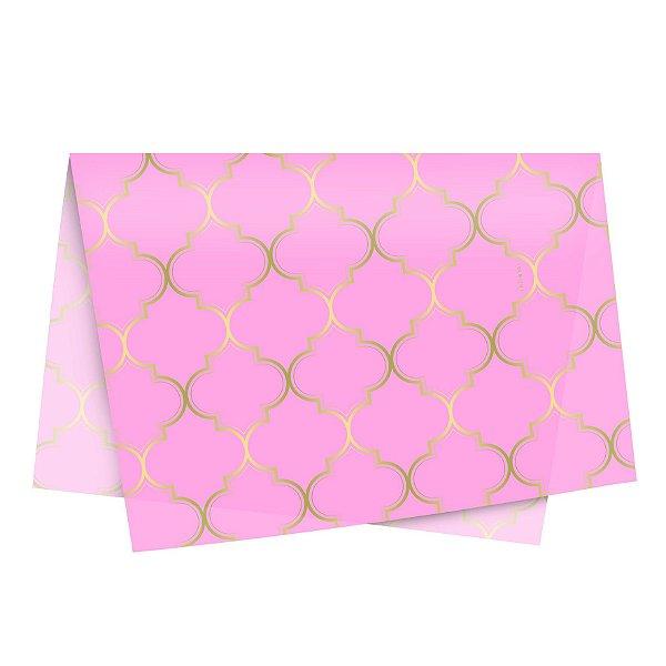 Papel de Seda - 49x69cm - Núria Rosa - 10 folhas - Rizzo Embalagens