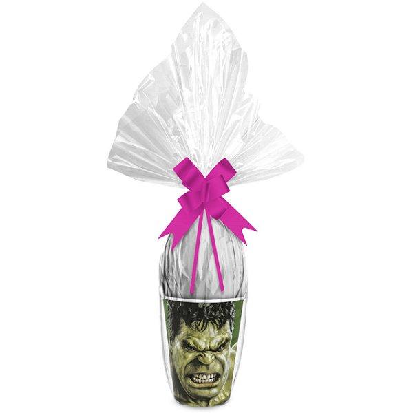 Kit Ovo no Copo Hulk Cores (Saco Express + Papel Chumbo + Laço Fácil) - Páscoa Rizzo