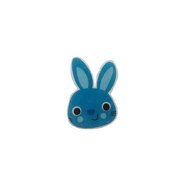 Papel Arroz Comestível Coelho Azul P Mod.10 Amo Confeitaria Rizzo Embalagens