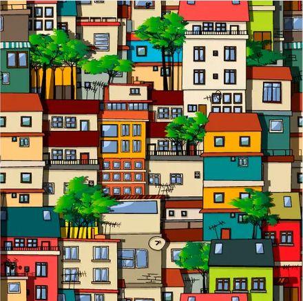 Saco Presente 25x37 - Casas Brasil - 50 unidades - Regina - Rizzo Embalagens