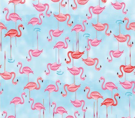 Saco Presente 45x59cm Flamingo - 25 unidades - Cromus - Rizzo Embalagens