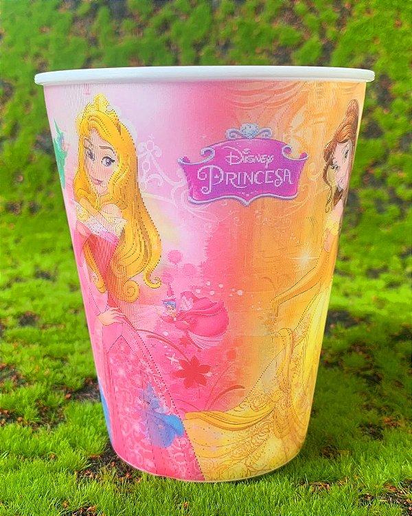 Copo de Plástico 3D 350 Ml Festa Princesas Disney - 1 Unidade - Regina - Rizzo Festas
