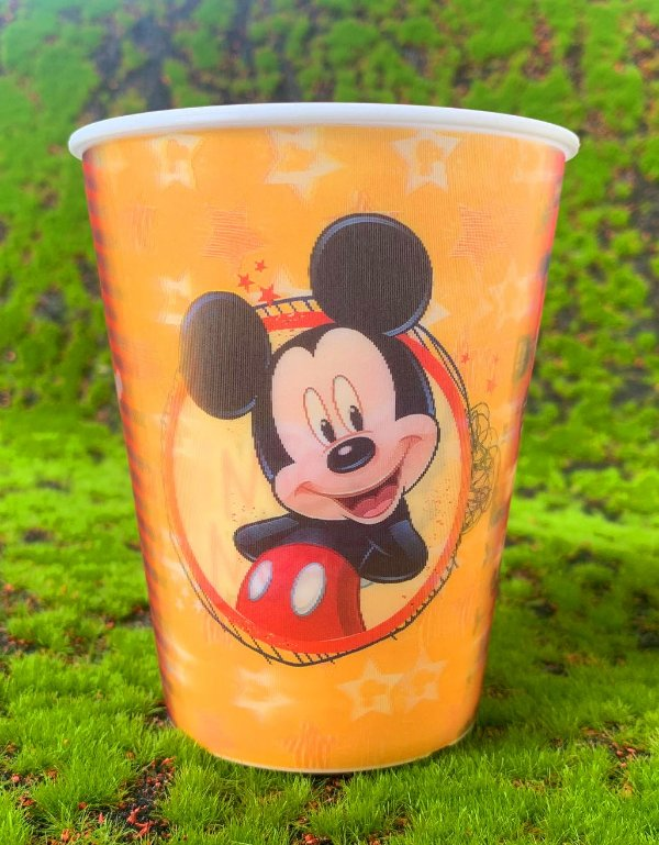 Copo de Plástico 3D 350 Ml Festa Mickey - 1 Unidade - Regina - Rizzo Festas