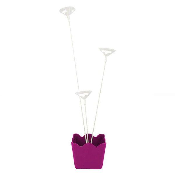 Suporte para Balão Pink - 01 Unidade - Rizzo Embalagens