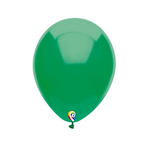 Balão de Festa Látex - Verde - Sensacional - Rizzo Embalagens