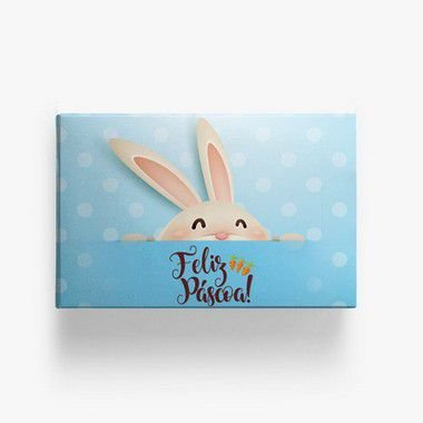 Caixa para Doces Coelho Azul 10u Ref.6681 - Miss Embalagens - Rizzo