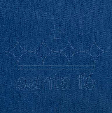 Feltro Liso 30 X 70 cm - Azul Royal 031 - Santa Fé - Rizzo Embalagens