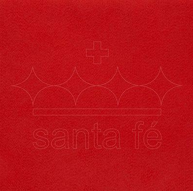 Feltro Liso 30 X 70 cm - Vermelho Sicilia 094 - Santa Fé - Rizzo Embalagens