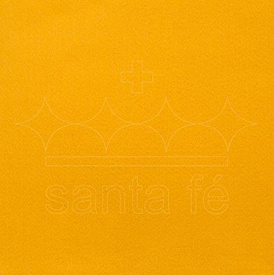 Feltro Liso 30 X 70 cm - Amarelo Ouro 044 - Santa Fé - Rizzo Embalagens