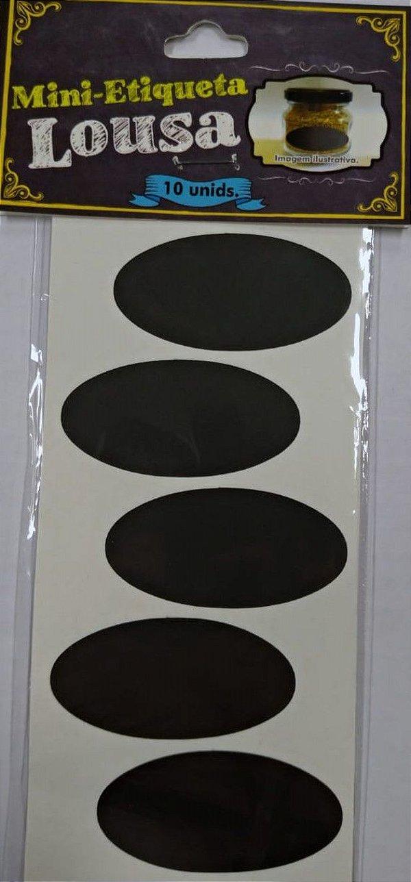 Etiqueta Adesiva Lousa Preta - 10 unidades - Rizzo Embalagens