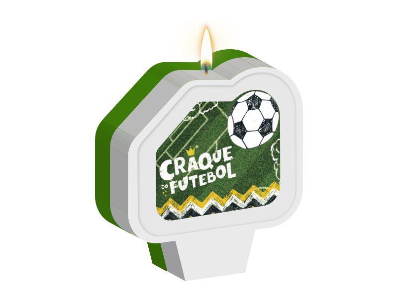 Vela Plana Adesivada Festa Futebol 01 Unidade - Regina - Rizzo Festas