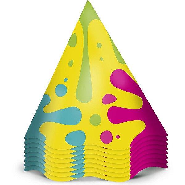 Chapeu Aniversario Festa Hora De Brincar 12 Unidades - Regina - Rizzo Festas