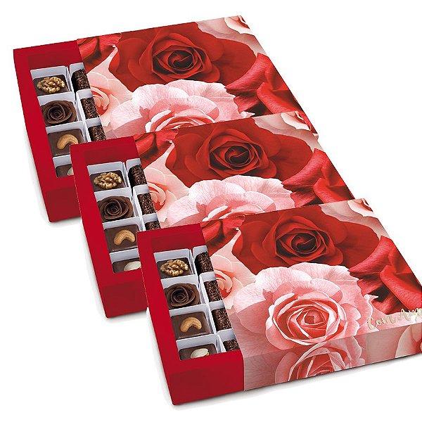 Caixa Luva para Docinhos - Belle - 01 unidade - Cromus - Rizzo Embalagens