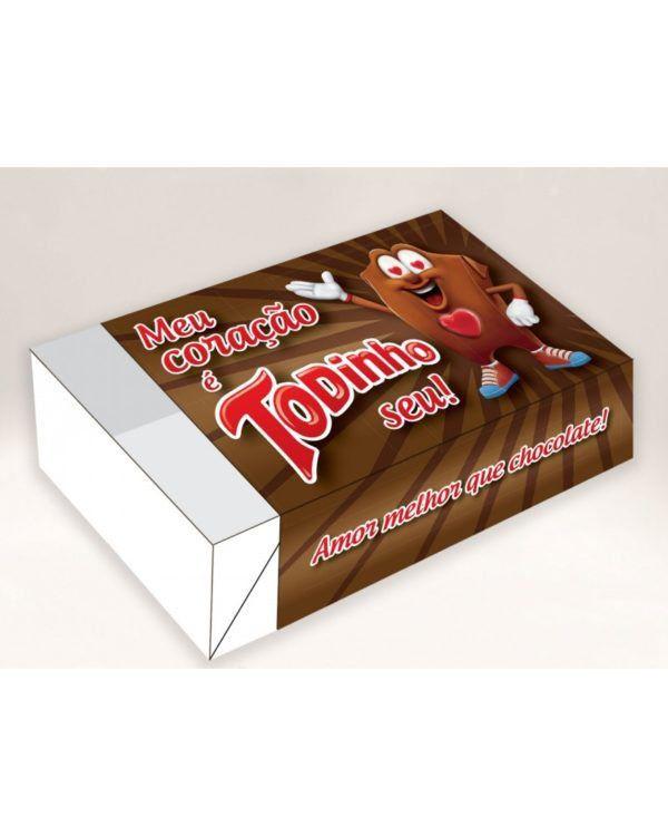 Caixa Divertida Todinho Seu Ref. 518 - 6 doces - 10 unidades - Erika Melkot Rizzo Embalagens