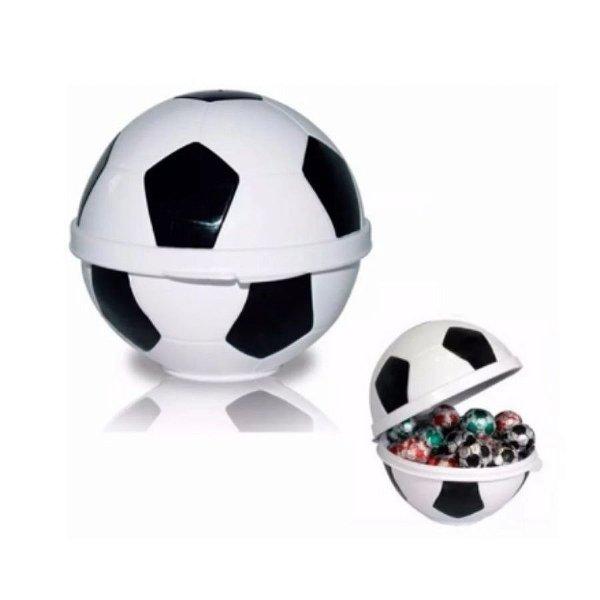 Porta Mix Bola de Futebol - Plasútil - Rizzo Embalagens