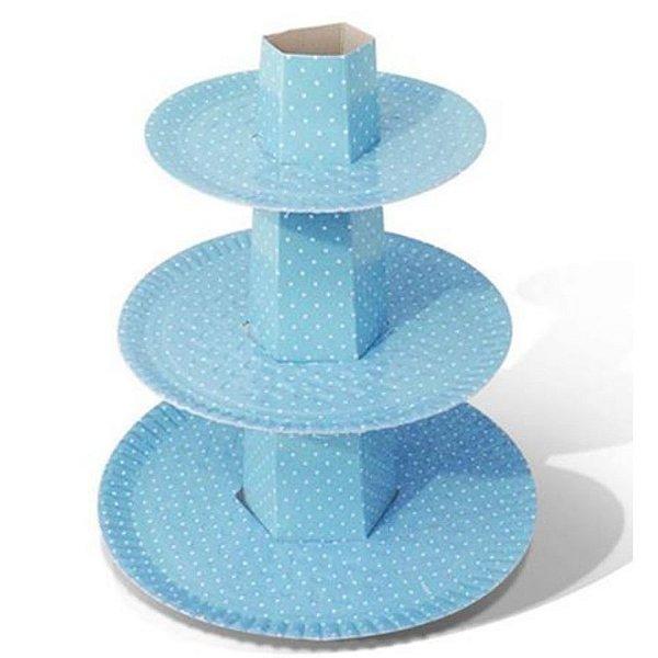 Baleiro Ultrafest  Azul com Branco  - Ultrafest - Rizzo Embalagens