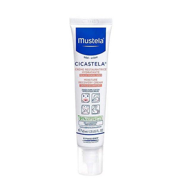 Mustela Cicastela Creme Reparador Hidratante 40ml