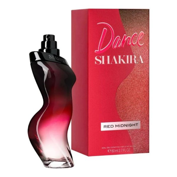 Shakira Dance Red Midnight  Eau de Toilette Perfume Feminino 80ml