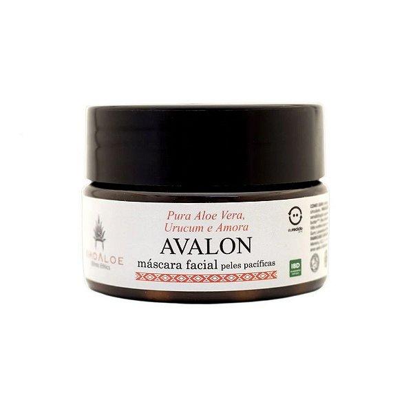 Ahoaloe Máscara Facial Vegana Avalon 80g
