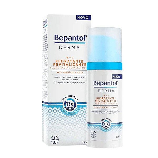 Bepantol Loção Facial FPS25 Hidratante Revitalizante 50ml