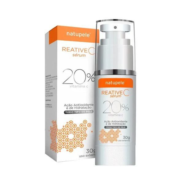 Natupele Reative C 20% Serum 30g