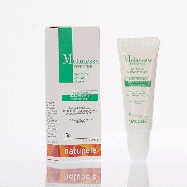 Natupele Melanesse Effective Gel Creme Clareador 15g