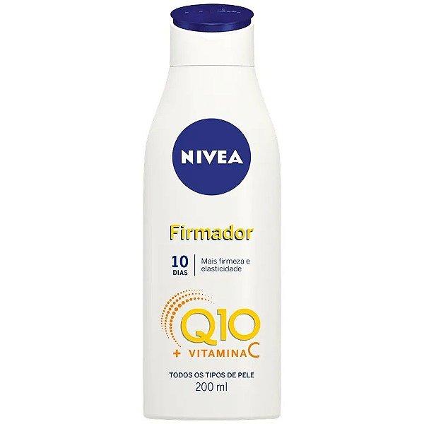 Nivea Firmador Q10 + Vit C todos os tipos de pele 200ml