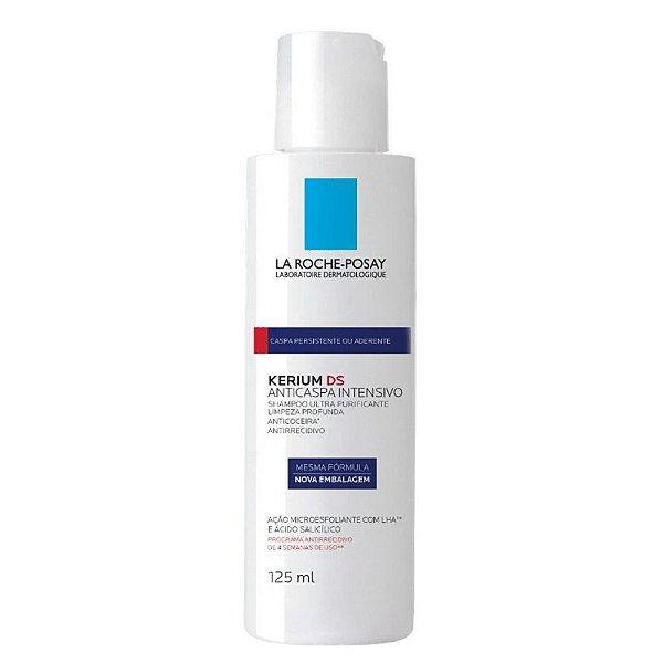 La Roche-Posay Kerium DS Shampoo Anticaspa Intensivo Vermelho 125ml