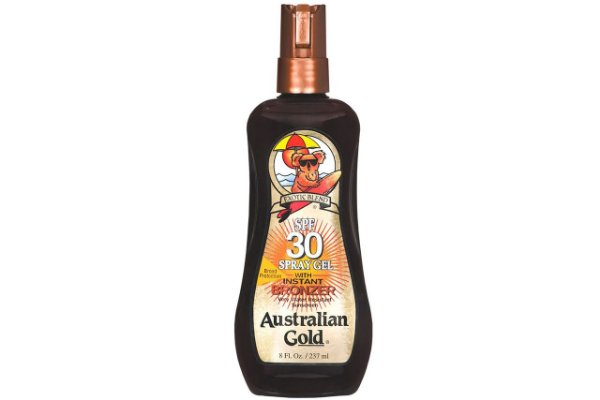 Australian Gold Spf 30 Instant Bronzer Spray Gel 237ml