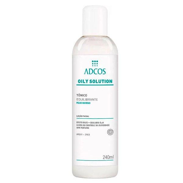 Adcos Oily Solution Tônico Equilibrante 240ml