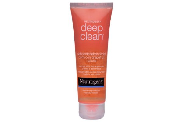 Neutrogena Deep Clean Sabonete Facial com Grapefruit Natural 80g