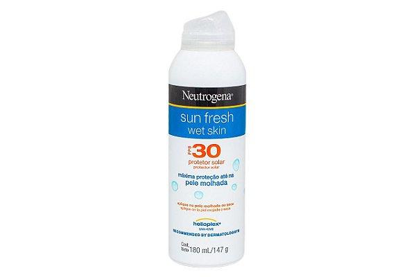 Neutrogena Sun Fresh Wet Skin FPS30 180ml
