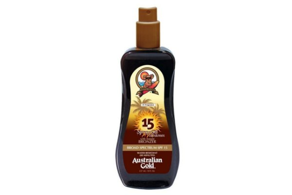 Australian Gold Spf 15 Instant Bronzer Spray Gel 125ml