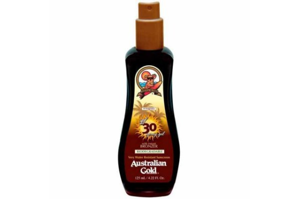 Australian Gold Spf 30 Instant Bronzer Spray Gel 125ml