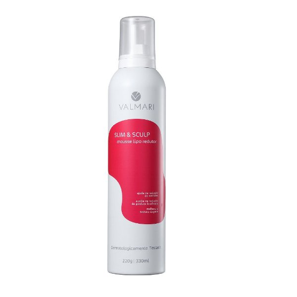 Valmari Slim Sculp Mousse Lipo Redutor 330ml