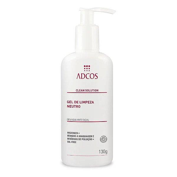 Adcos Clean Solution Gel de Limpeza Neutro 130g