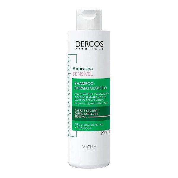 Vichy Dercos Shampoo Anticaspa Sensível 200ml