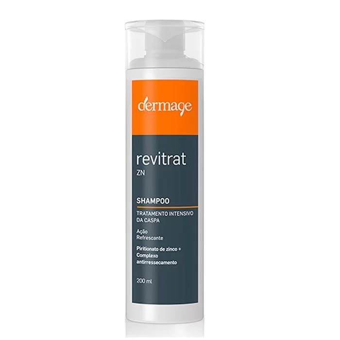 Dermage Revitrat Zn Shampoo Anticaspa 200ml