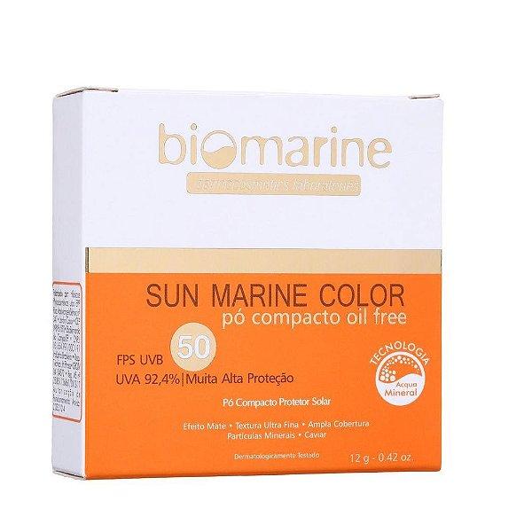 Biomarine Sun Marine Color Pó Compacto FPS50 Canela 12g
