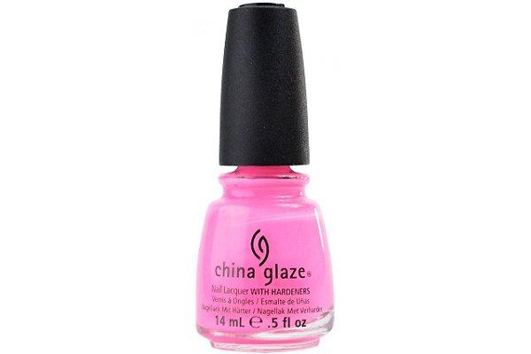 China Glaze Esmalte Nail Lacquer Shocking Pink 1003 14ml