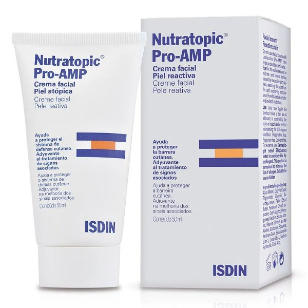 Isdin Nutratopic Pro-Amp Creme Facial 50ml