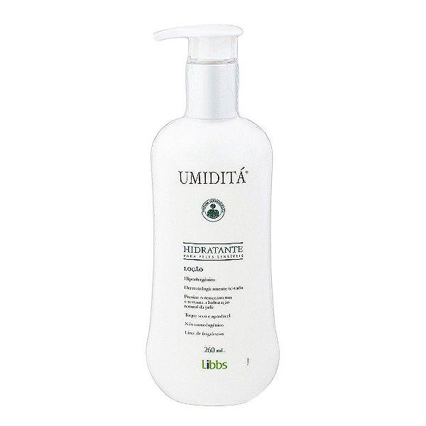 Libbs Umiditá Loção Hidratante para Peles Sensíveis 260ml