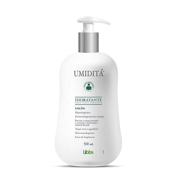 Libbs Umiditá Loção Hidratante para Peles Sensíveis 500ml