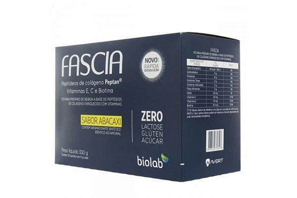 Biolab Fascia Abacaxi 30 Sachês 11g