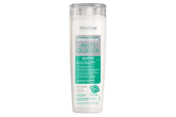 Vita Derm Shampoo Antiqueda 200ml