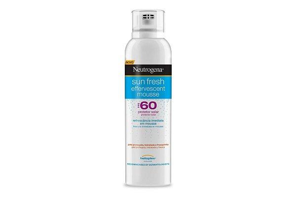 Neutrogena Sun Fresh FPS 60 Mousse Efervescente 200ml