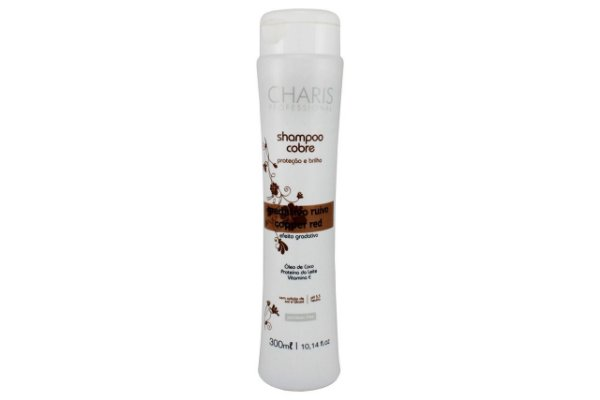 Charis Shampoo Cobre Ruivo 300ml
