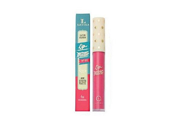 Latika Lip Matte Nº01 Rosa - 4Ml